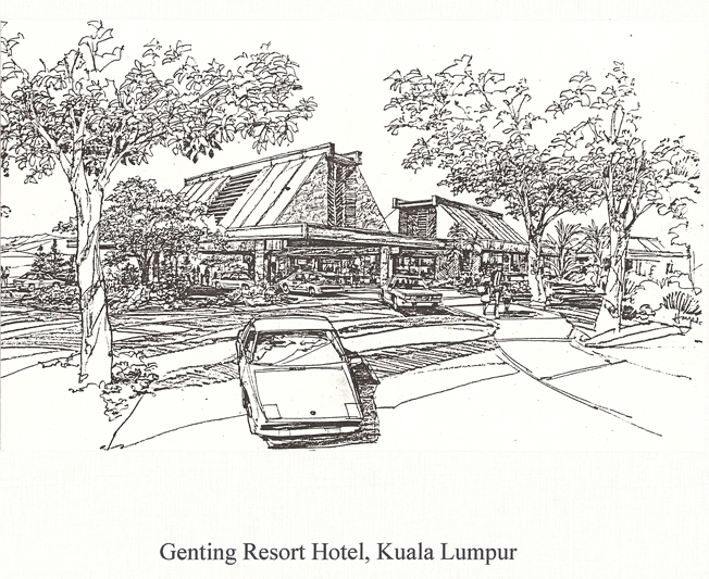Genting Resort Hotel, 1983, Honolulu, Oahu.