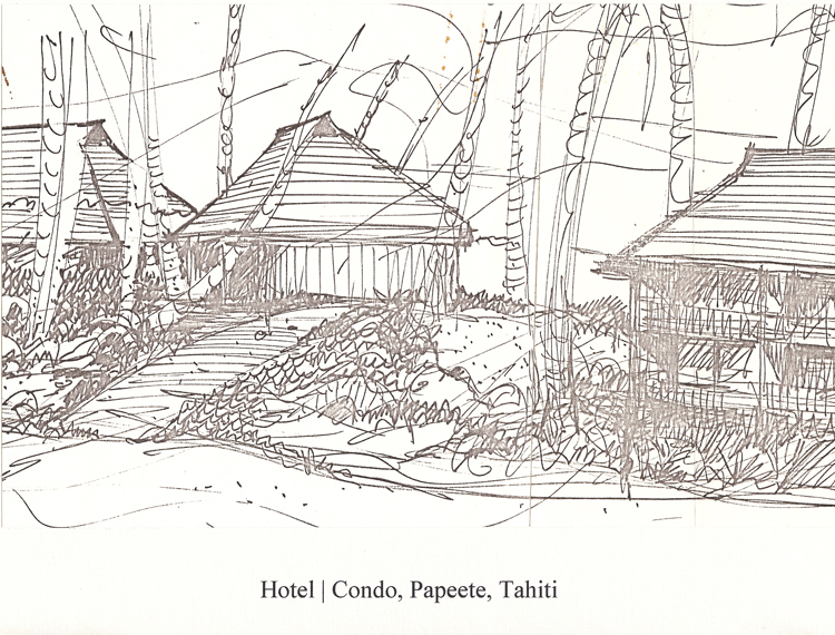 Proposed Hotel Tahara Condominium, 1978.
