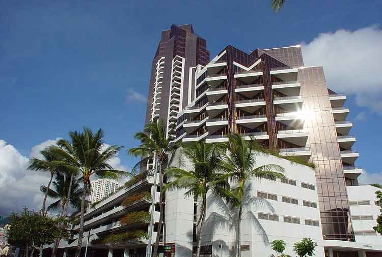 Imperial Hawaii Plaza, 1990, Honolulu, Oahu.